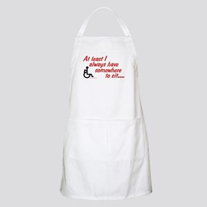 Somewhere to sit BBQ Apron