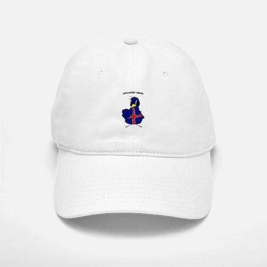 Icelandic Chick Baseball Baseball Cap