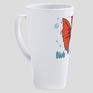 Betta Fish 17 oz Latte Mug
