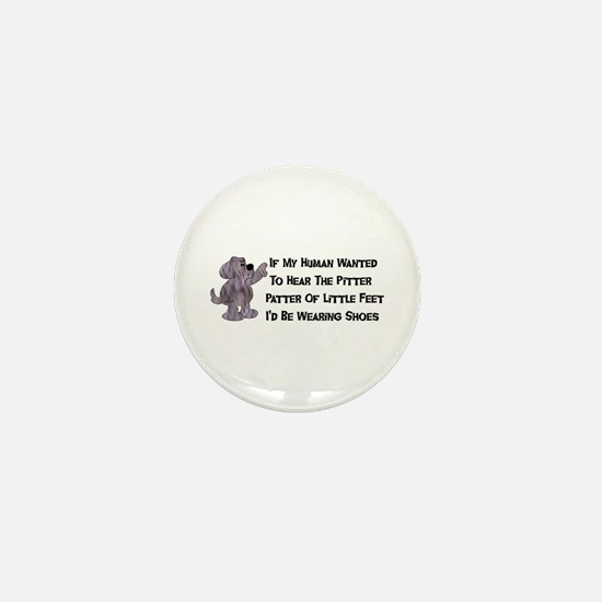 Child-Free Puppy Dog Mini Button