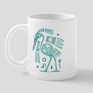 Tribal Crane Mug