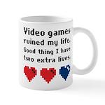 Video Games Ruined My Life. Mug