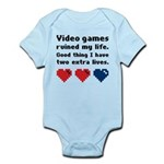 Video Games Ruined My Life. Infant Bodysuit
