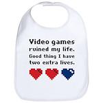 Video Games Ruined My Life. Bib