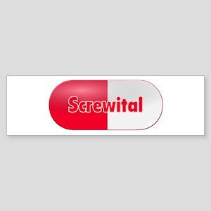 Screwital Bumper Sticker
