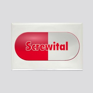 Screwital Rectangle Magnet