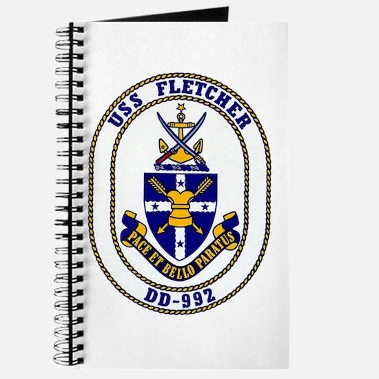 USS Fletcher DD-992 Journal