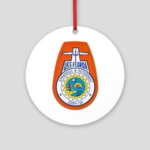 USS Florida SSGN-728 Ornament (Round)