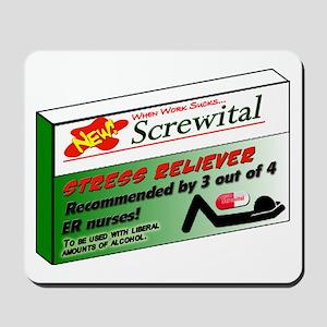 Screwital! Mousepad