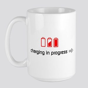 { ... fully charged } Large Mug
