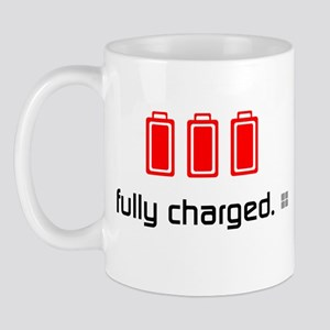 { ... fully charged } Mug