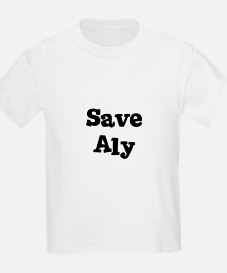Save Aly Kids T-Shirt