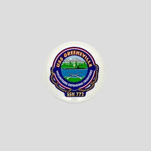 USS Greeneville SSN-772 Mini Button