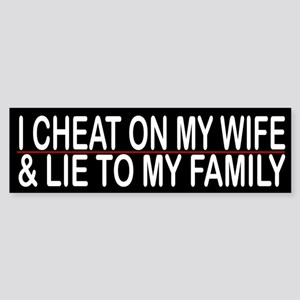 how to lie about cheating