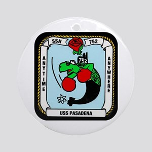 USS Pasadena SSN-752 Ornament (Round)