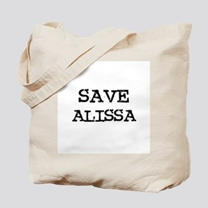Save Alissa Tote Bag