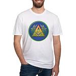 Masonic Acacia & Pyramid Fitted T-Shirt