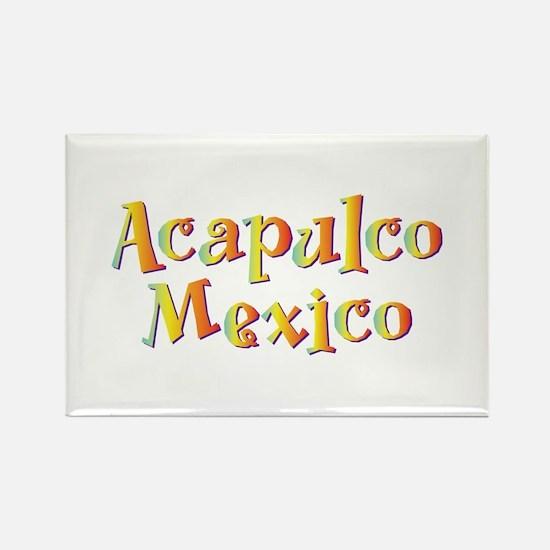 Acapulco Mexico - Rectangle Magnet