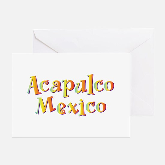 Acapulco Mexico - Greeting Card