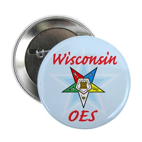 """Wisconsin Eastern Star 2.25"""" Button (100 pack)"""