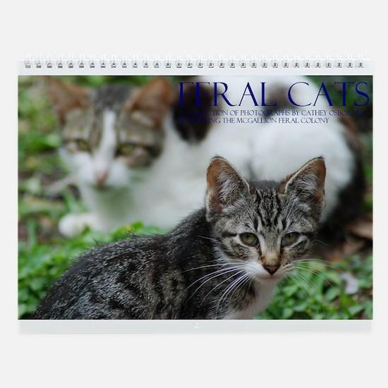 Feral Cat Colony Wall Calendar