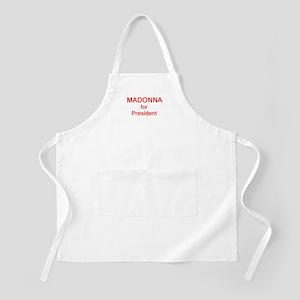 Madonna for President BBQ Apron