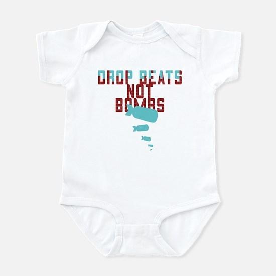 Drop Beats Not Bombs Infant Bodysuit