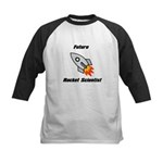 Future Rocket Scientist Kids Baseball Jersey