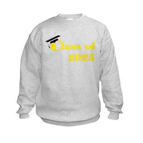 Clas of 2025 Kids Sweatshirt