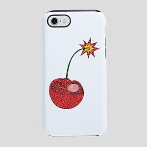 Glitter Cherry Bomb iPhone 8/7 Tough Case