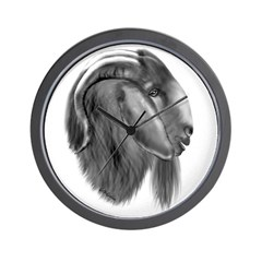 Boer Goat Buck Wall Clock