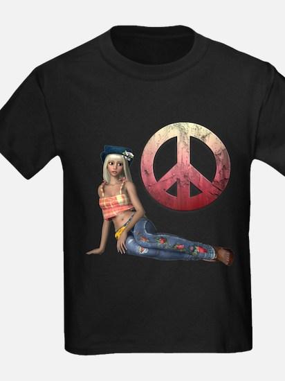 Hippie Peace Sign T