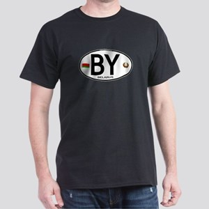 Belarus Euro Oval Dark T-Shirt