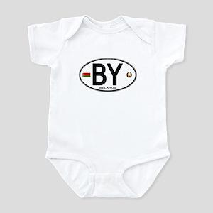 Belarus Euro Oval Infant Bodysuit