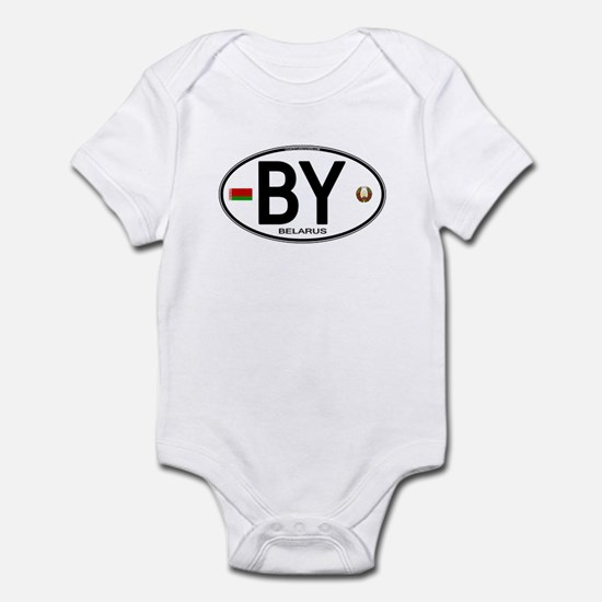Belarus Euro Oval Infant Bodysuit