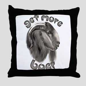 Get More Boer Goat Throw Pillow