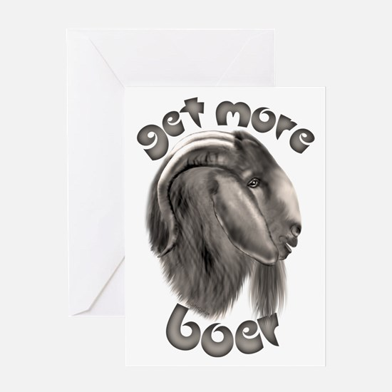 Get More Boer Goat Greeting Card