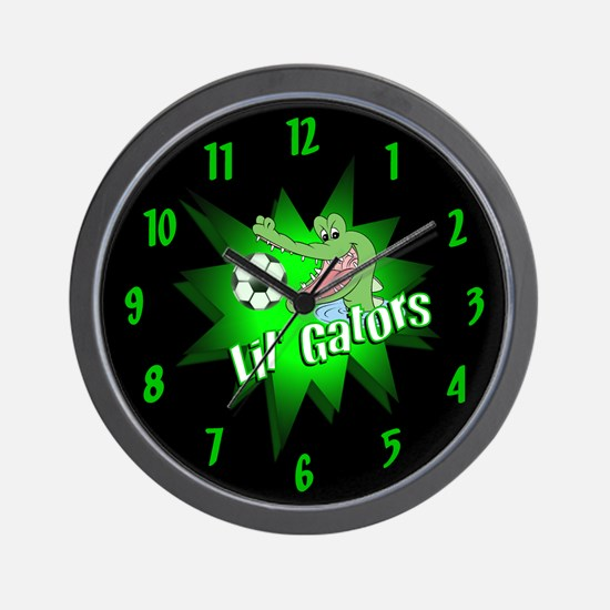 Lil' Gators Soccer Team Wall Clock