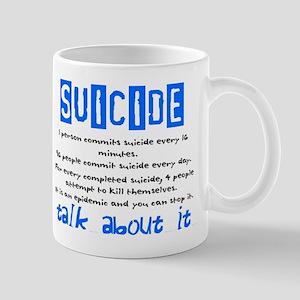 Suicide Statistics Mug