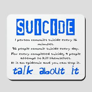 Suicide Statistics Mousepad