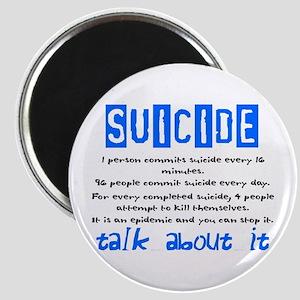 Suicide Statistics Magnet
