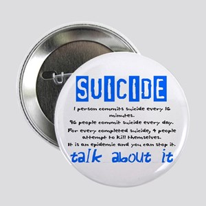 "Suicide Statistics 2.25"" Button"