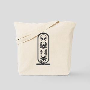 Alien-Egyptian Cartouche 13 Tote Bag