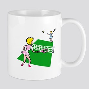 Tennis Match Mug