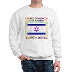 Gay Israel Sweatshirt