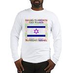 Gay Israel Long Sleeve T-Shirt