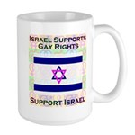 Gay Israel Large Mug