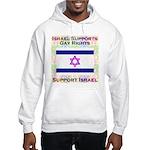 Gay Israel Hooded Sweatshirt