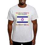 Gay Israel Light T-Shirt