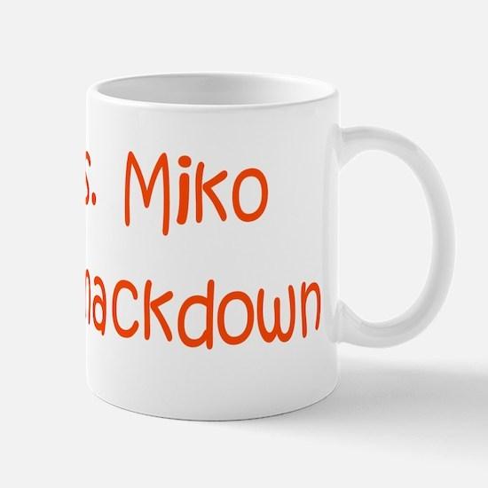 Miko Vs Miko Feudal Sm. Mug